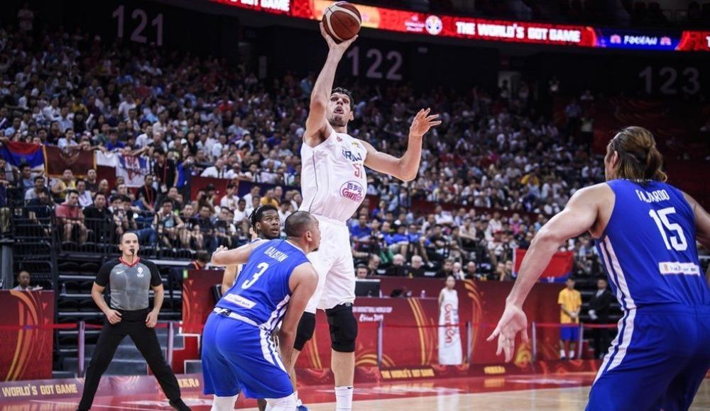 Sırbistan, Filipinler'i 126-67 yendi