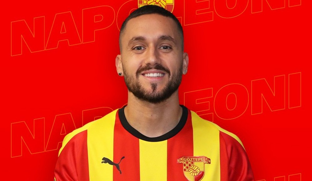 Stefano Napoleoni Göztepe'ye transfer oldu