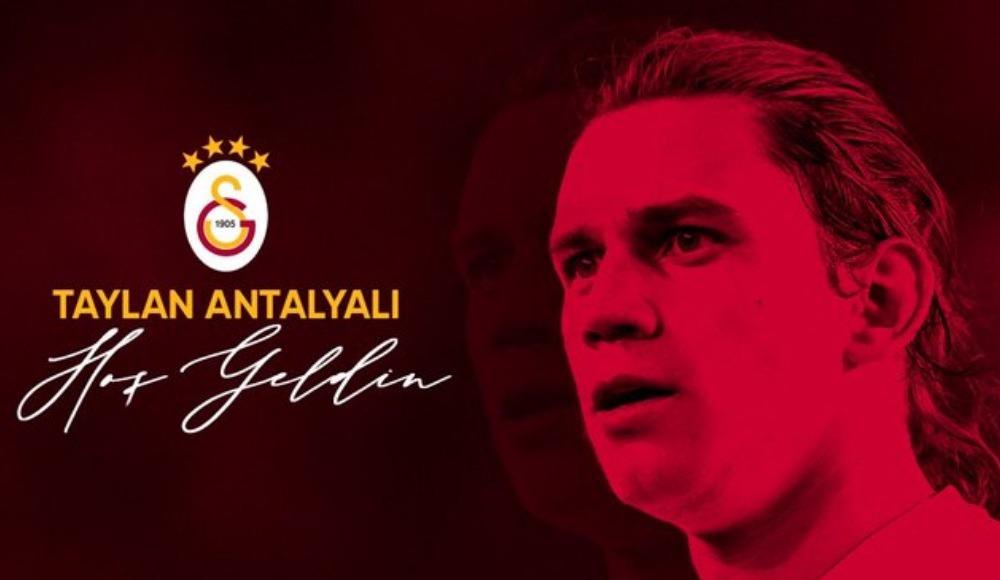 Taylan Antalyalı Galatasaray'da!