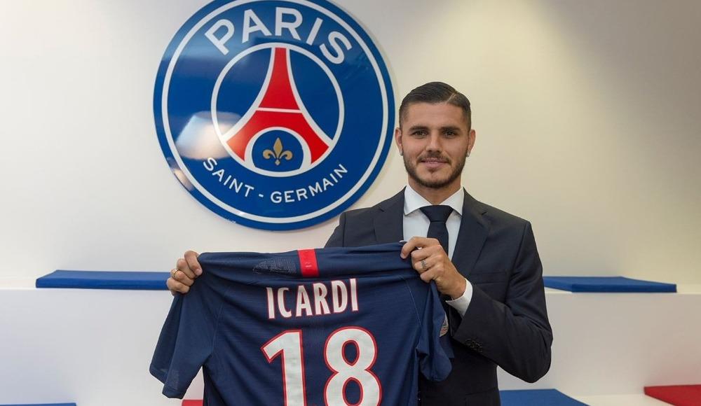 Mauro Icardi, Paris Saint-Germain'de!