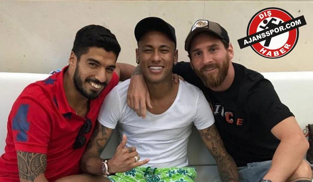 """Luis Suarez: """"Neymar dönmek için her şeyi yaptı"""""""