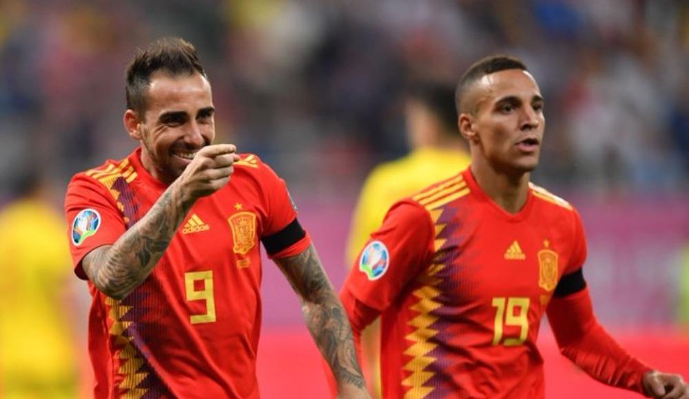 İspanya deplasmanda Romanya'yı 2-1'lik skorla geçti!