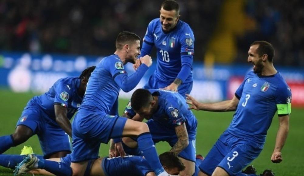 İtalya deplasmanda Ermenistan'ı rahat geçti