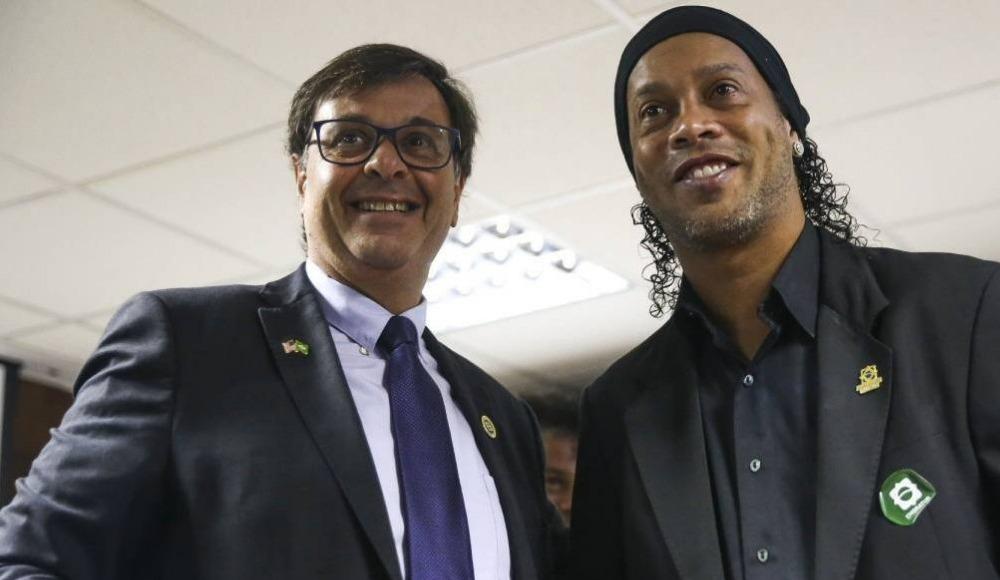 Ronaldinho, Brezilya'da Turizm Elçisi seçildi