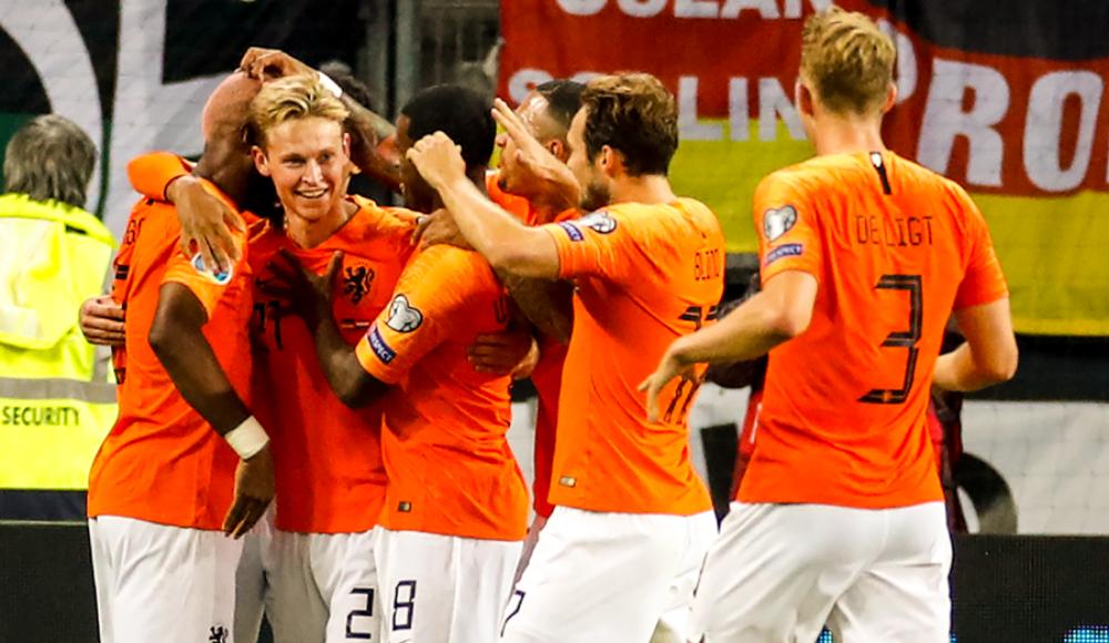Hollanda deplasmanda kazandı