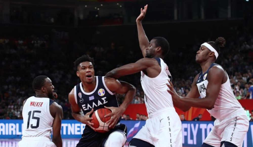 FIBA Dünya Kupası'nda ABD, Yunanistan'ı 69-53 mağlup etti