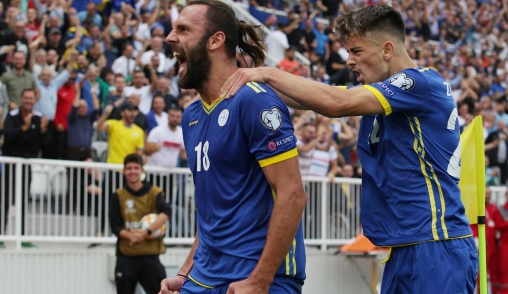 Vedat Muriç attı Kosova kazandı!