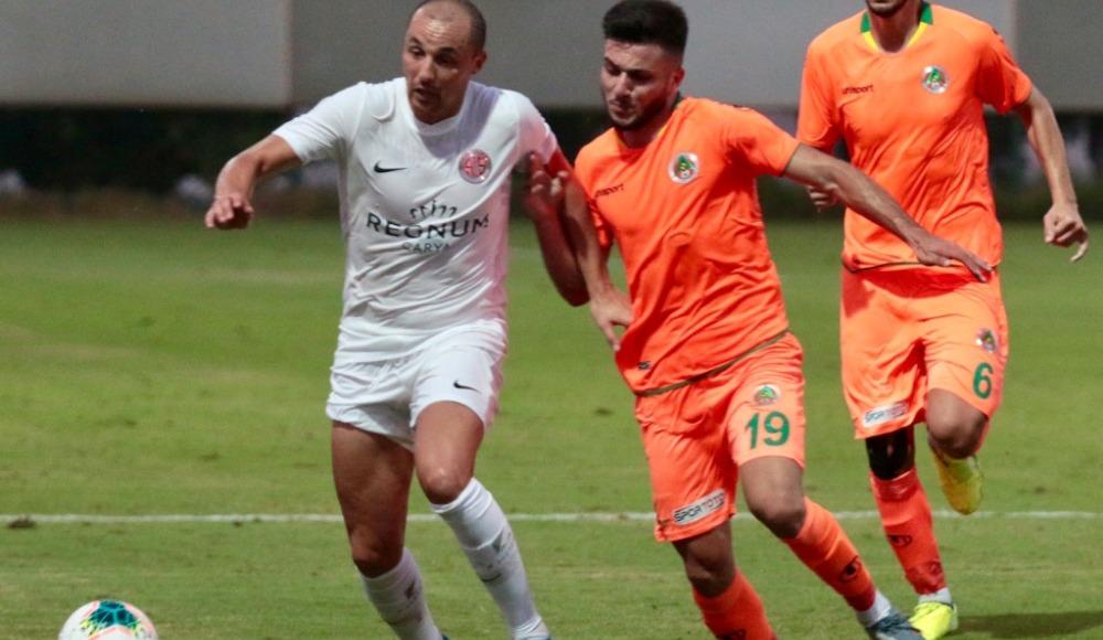 Antalyaspor - Alanyaspor maçında gol sesi çıkmadı
