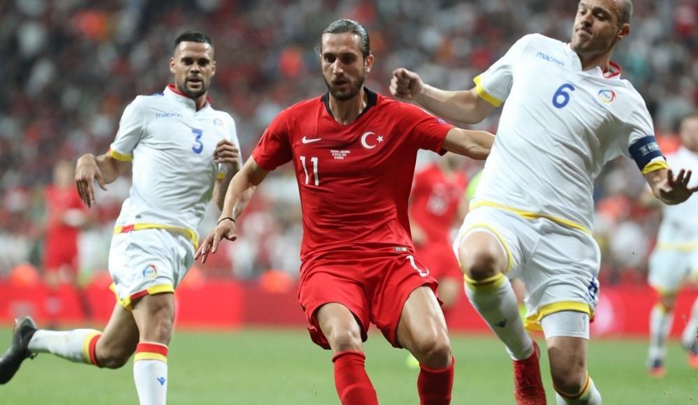 Yusuf Yazıcı, Milli Takım formasıyla ilk golünü attı!