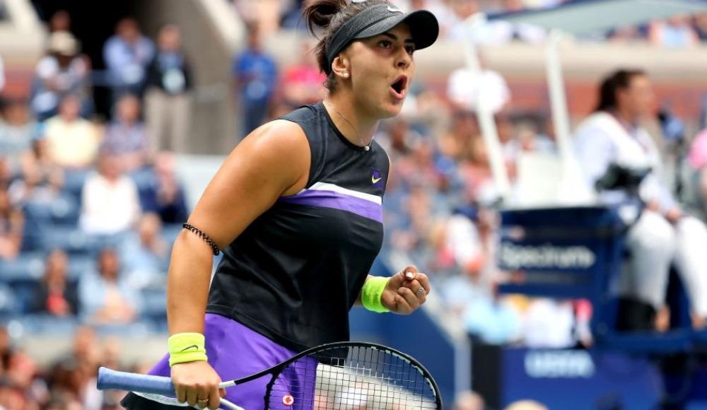 ABD Açık Tenis Turnuvası tek kadınlarda şampiyon Bianca Andreescu!