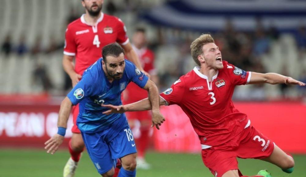 Yunanistan, Liechtenstein ile berabere kaldı!