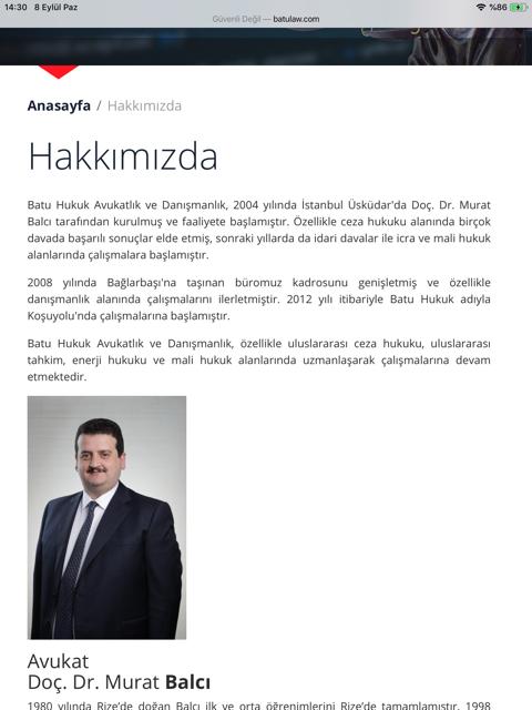 Murat Balcı hakkında...