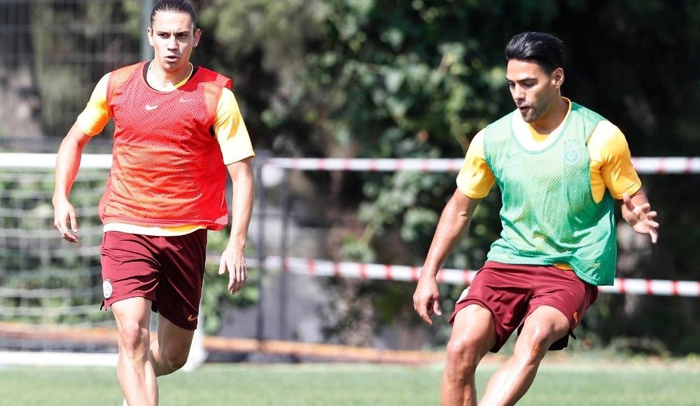 Galatasaray'da Taylan ve Yunus Akgün sevinci