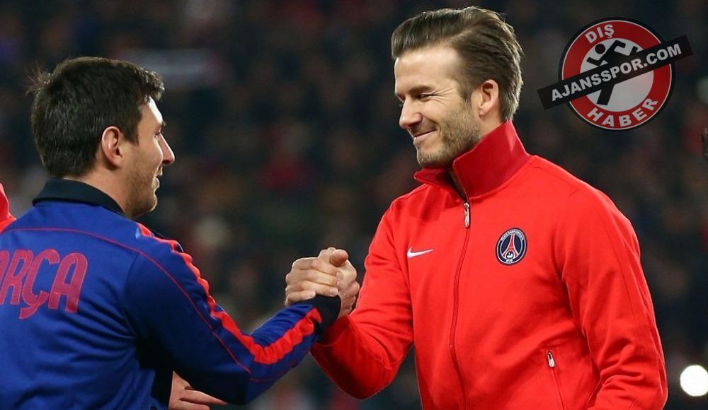 David Beckham'dan Lionel Messi'ye teklif! Inter Miami...
