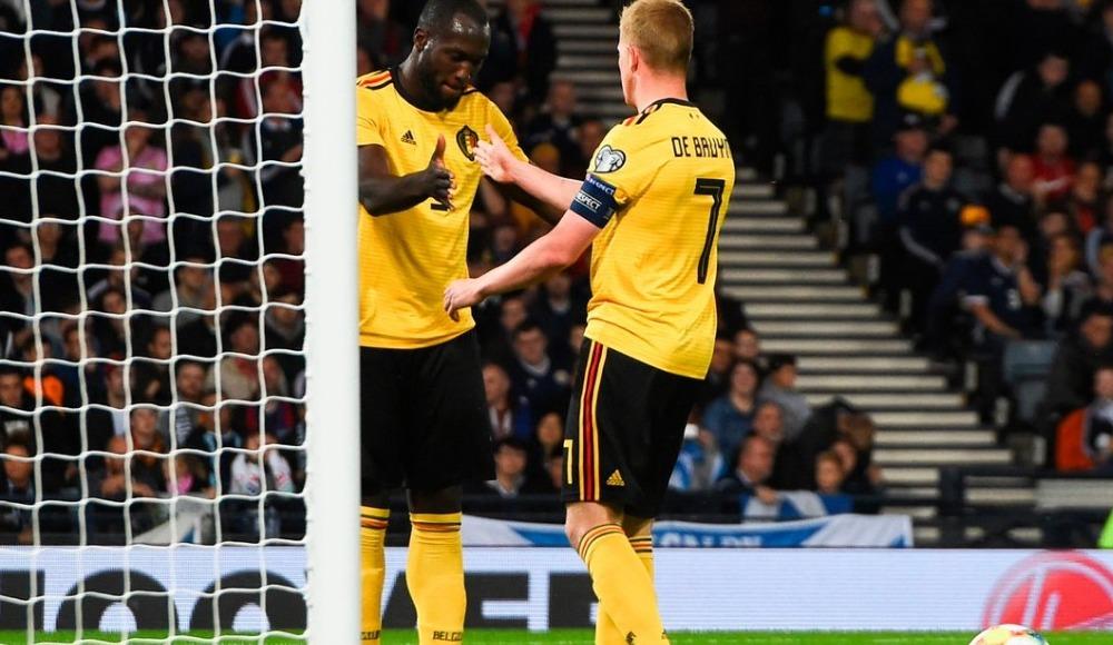 Belçika, İskoçya deplasmanında rahat kazandı! 0-4
