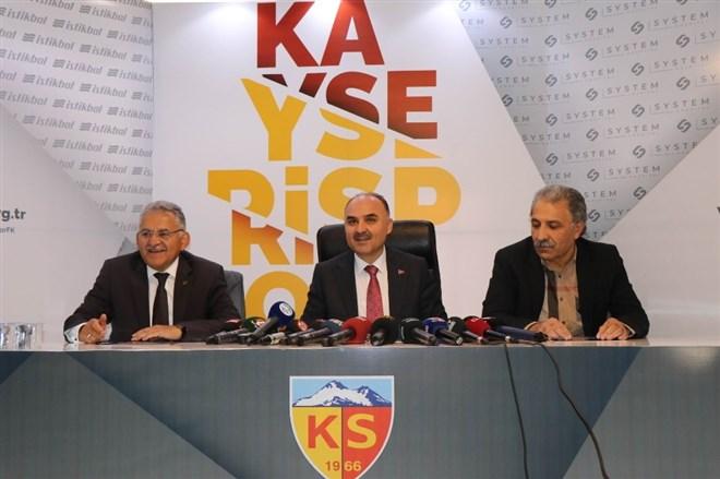 İ.M. Kayserispor için canlı yayında destek aranacak