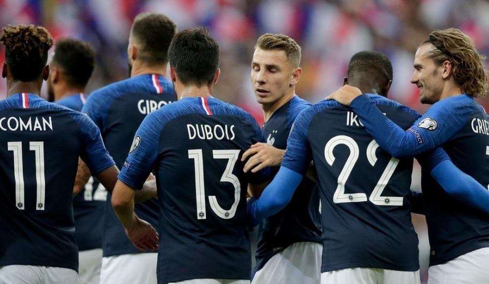 Fransa, Andorra'yı sahasında rahat geçti! 3-0