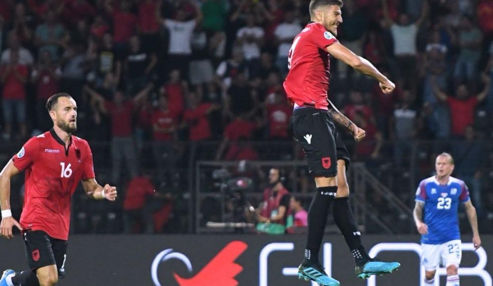 Arnavutluk, sahasında İzlanda'yı 4 golle geçti!  4-2