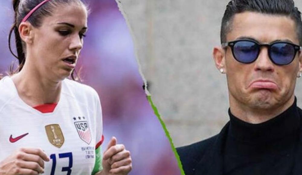 """Alex Morgan: """"Ronaldo'nun gerçek yüzünü kimse bilmiyor"""""""