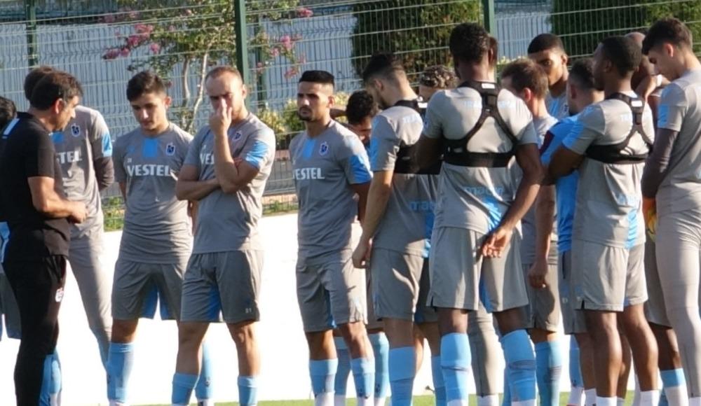Trabzonspor antrenmanında sakatlık!