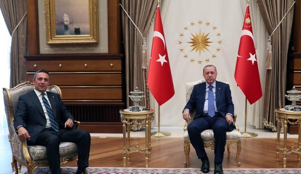 Ali Koç, Cumhurbaşkanı Sayın Recep Tayyip Erdoğan'ı ziyaret etti