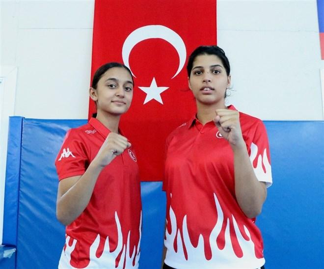 Tekvandocu kızların hedefi dünya şampiyonluğu