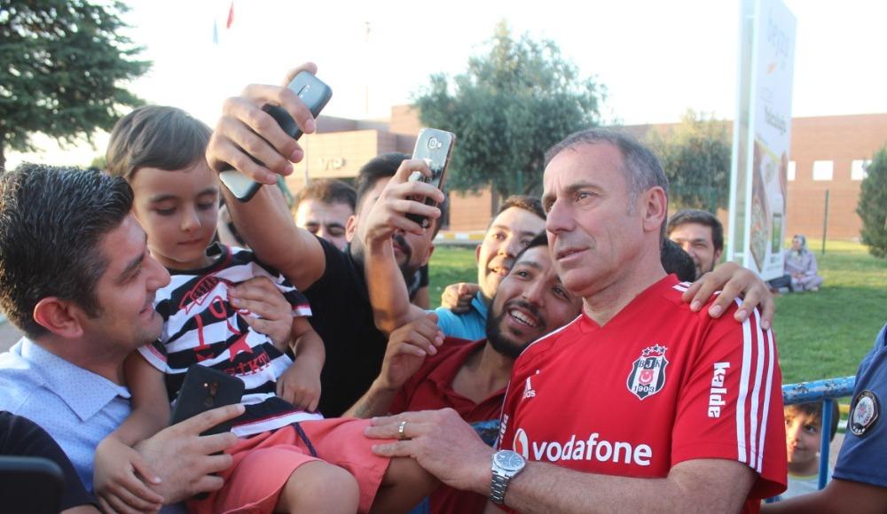 Beşiktaş kafilesi Gaziantep'e geldi
