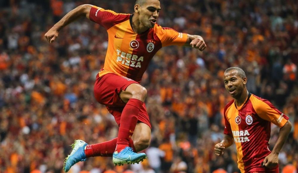Radamel Falcao, Galatasaray formasıyla ilk golünü attı