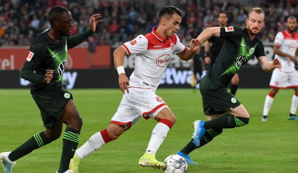 Fortuna Düsseldorf - Wolfsburg maçında kazanan yok! 1-1