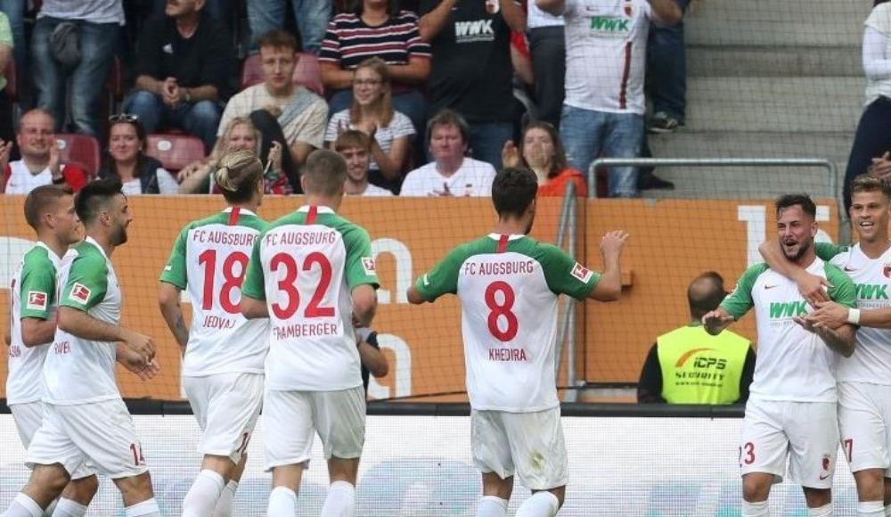 Augsburg siftah yaptı: 2-1!