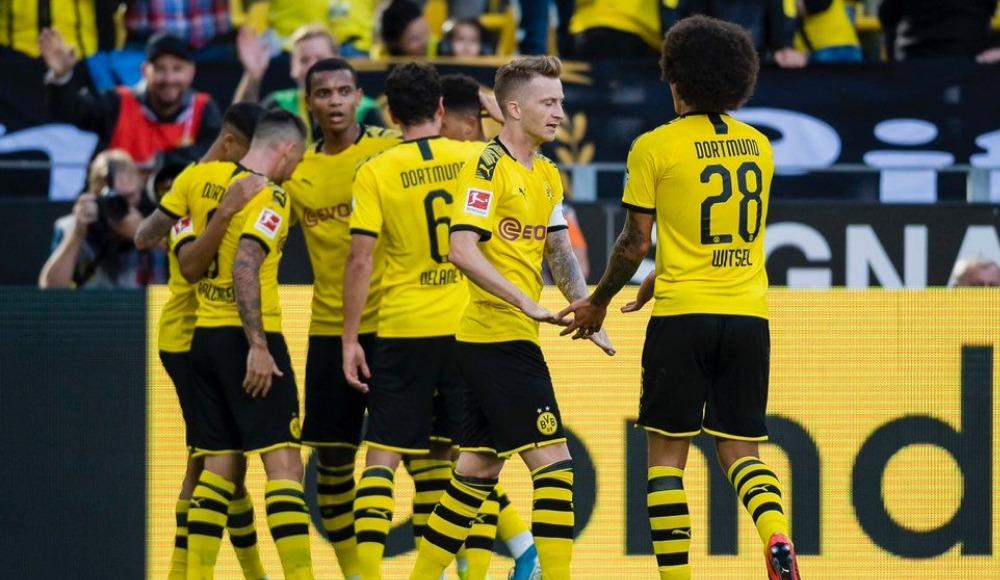 Borussia Dortmund evinde çok farklı: 4-0!