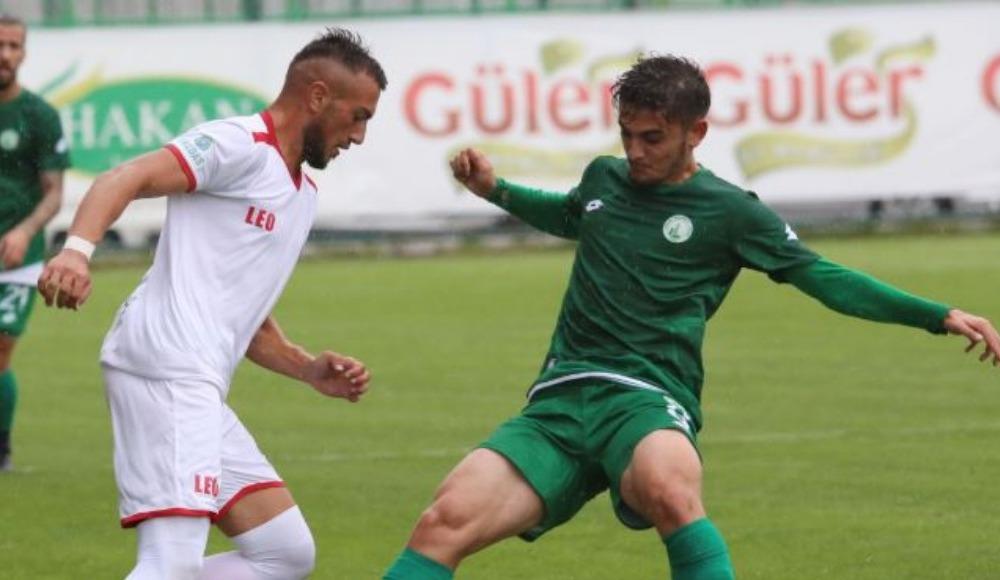 Sivas Belediyespor ile Kahramanmaraşspor yenişemedi