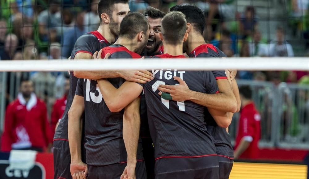 2019 Erkekler Avrupa Şampiyonası'nda 8 maç oynandı