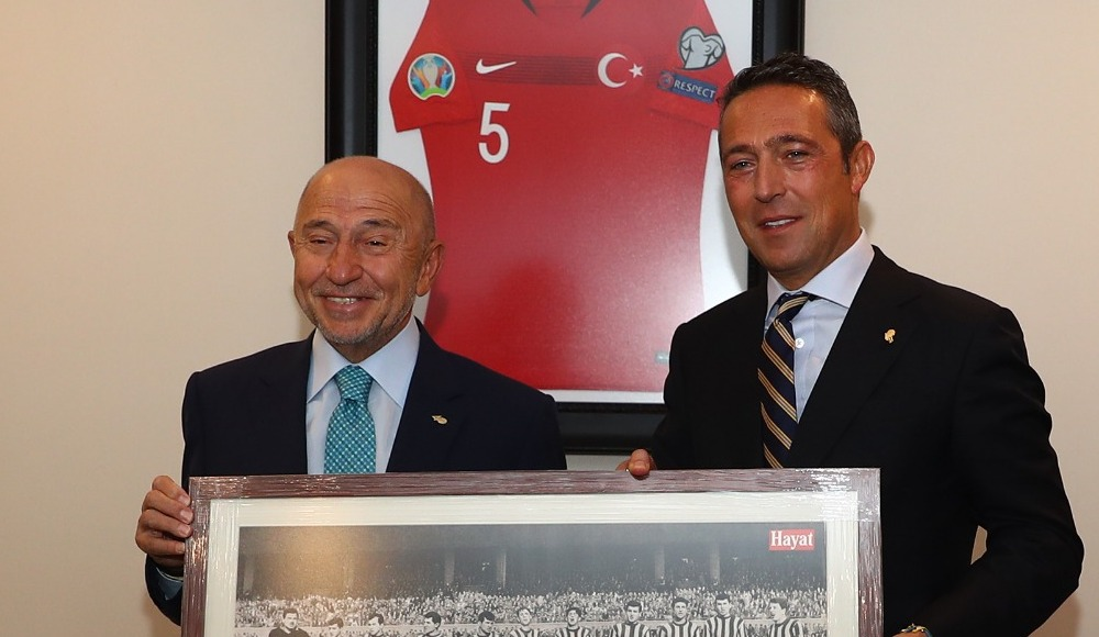 Ali Koç'tan Nihat Özdemir'e ziyaret