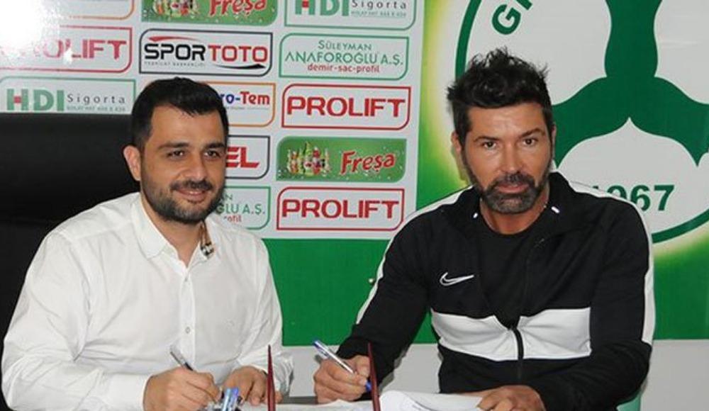 Hakan Kutlu Giresunspor'la imzaladı