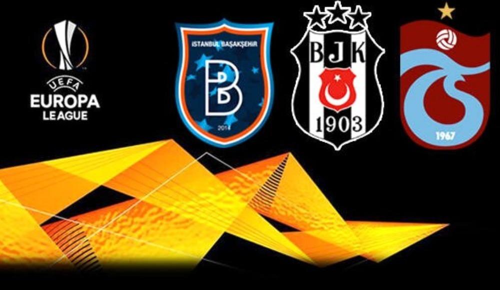 Beşiktaş, Trabzonspor ve Başakşehir'in Avrupa Ligi gelirleri ne kadar?