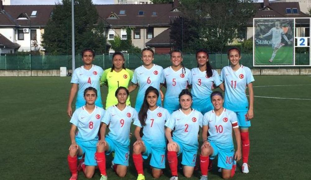 17 Yaş Altı Kız Milli Futbol Takımı, Romanya ile 4-4 berabere kaldı