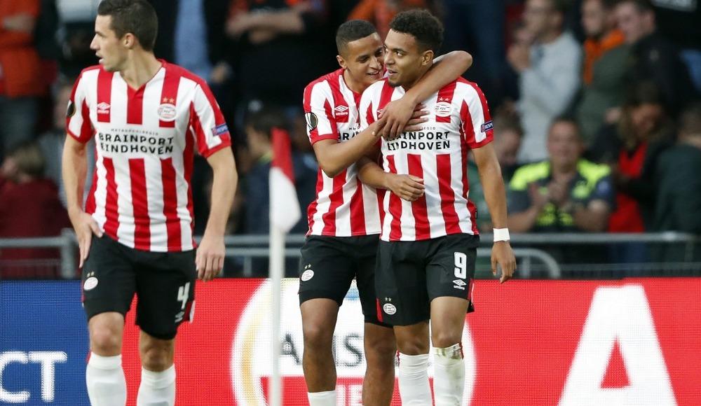 Gol düellosunda kazanan PSV