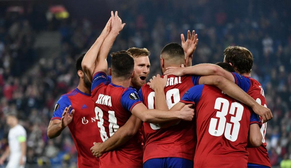 Basel gol oldu yağdı! 5-0