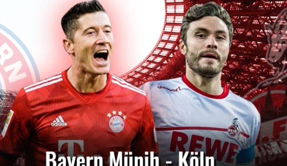 Bayern Münih - Köln (Canlı Skor)