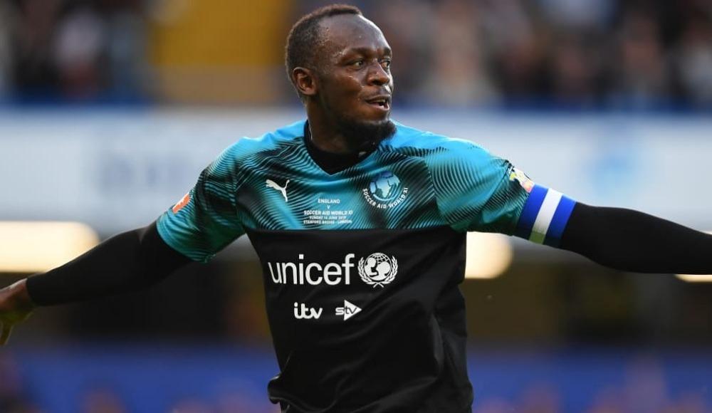 Usain Bolt, yarışmak isteği futbolcuları açıkladı!