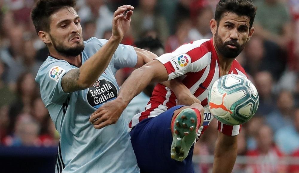 Atletico Madrid, sahasında Celta Vigo ile yenişemedi!
