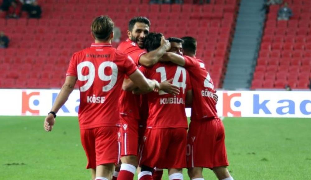 Samsunspor sahasında coştu: 5-0!