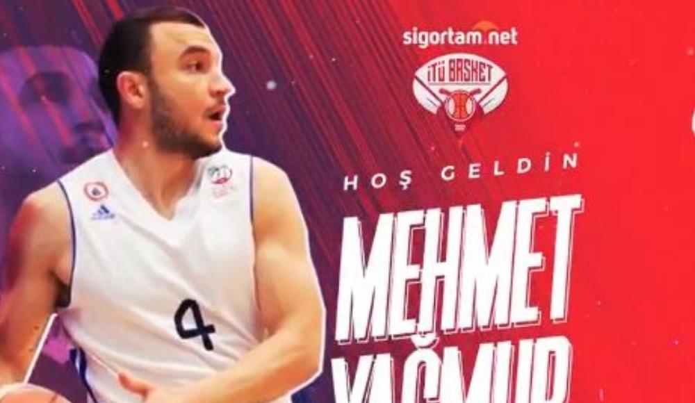 Mehmet Yağmur, Sigortam.net  İTÜ Basket'te