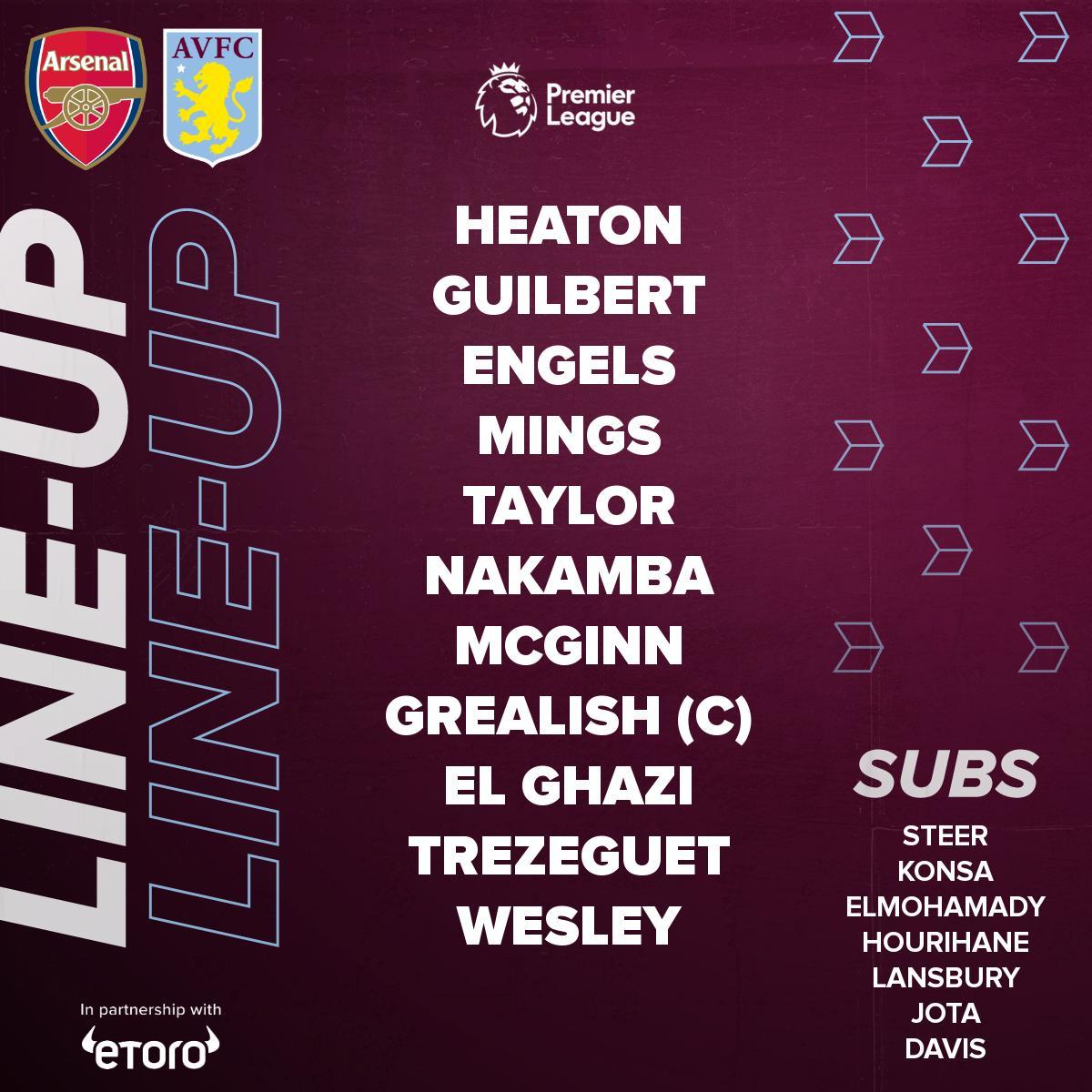 Aston Villa 11