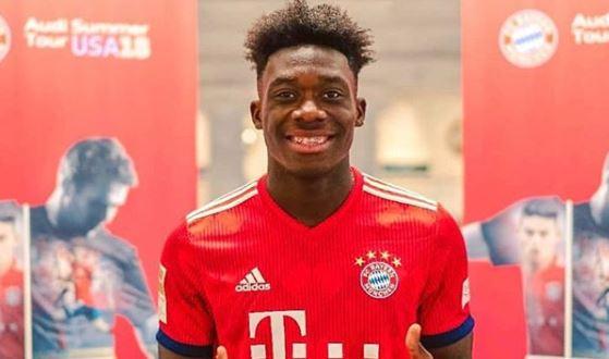 Alphonso Davies - Bayern Münih
