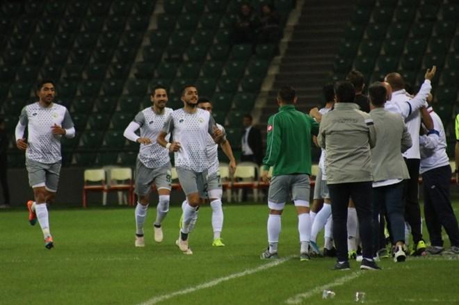 Sivas Belediyespor, deplasmanda Kocaelispor'u 1-0 mağlup etti
