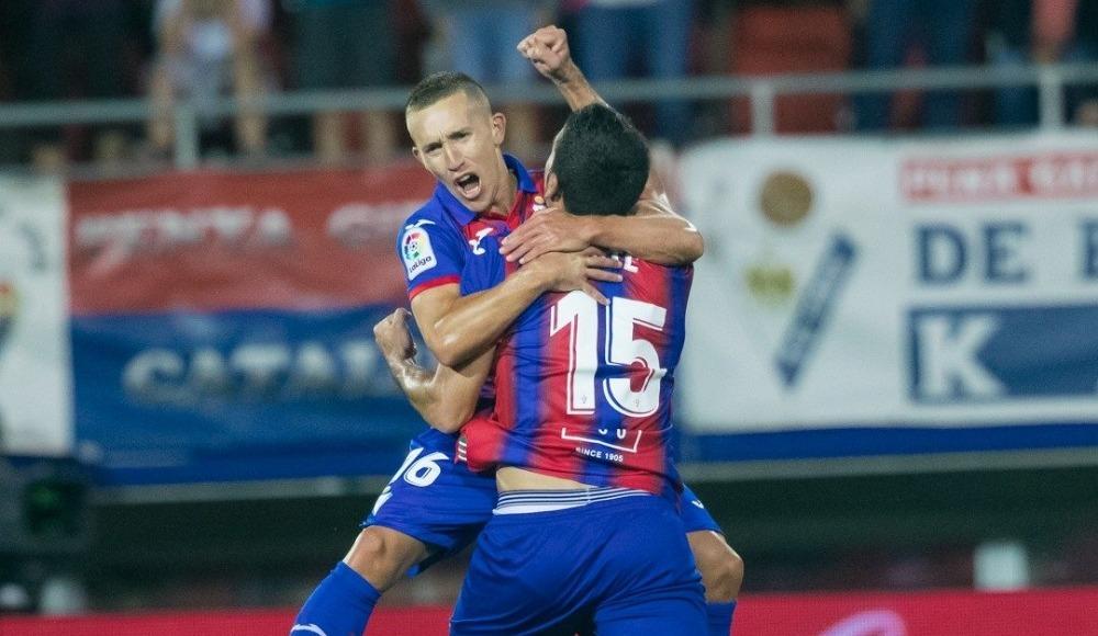 Eibar, Sevilla'yı 3-2 mağlup etti