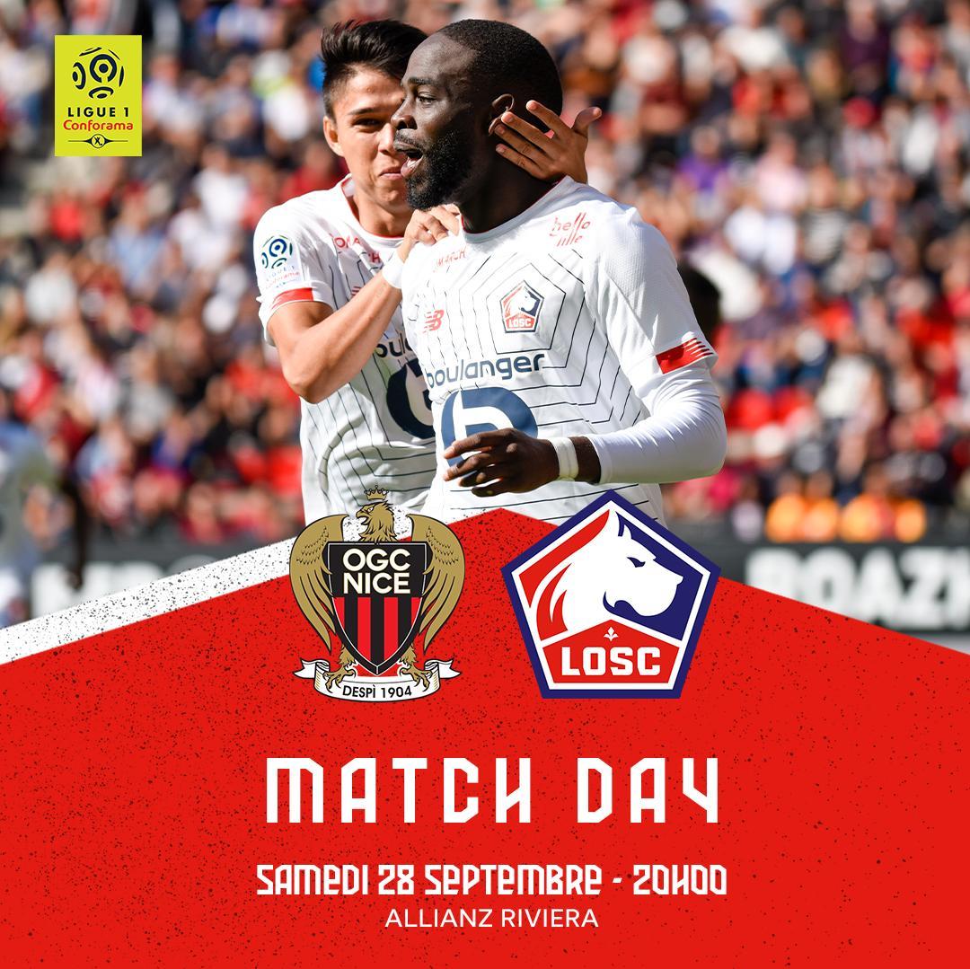 Nice - Lille maçını (Canlı Skor)