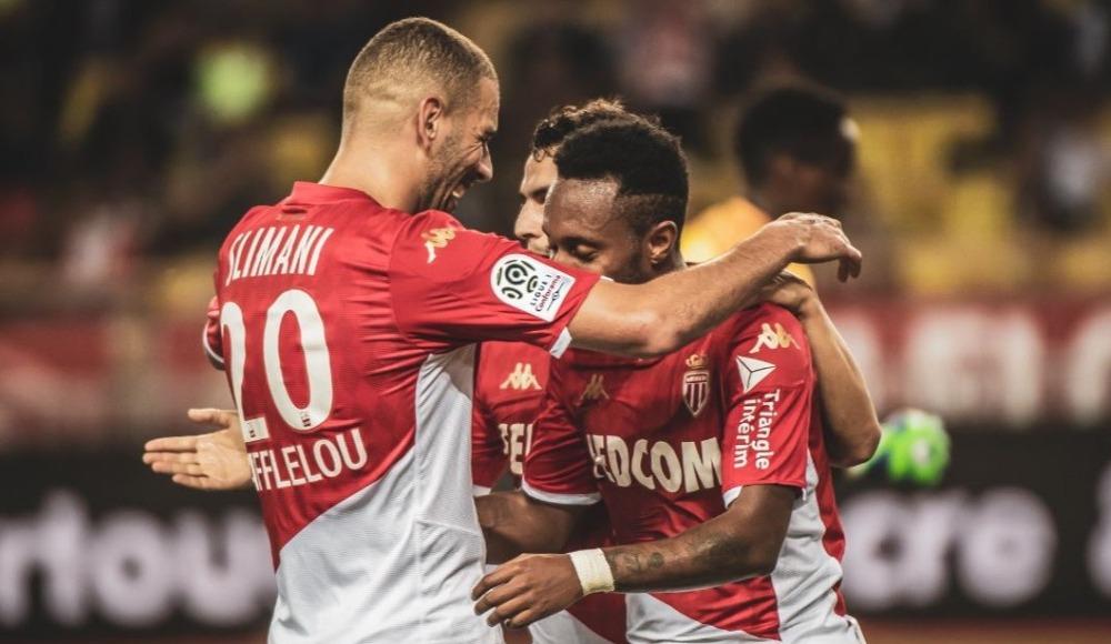 Slimani coştu, Monaco farka koştu: 4-1!